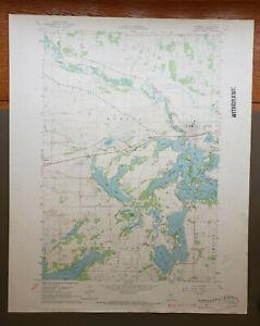 """Richmond, Minnesota Original Vintage 1967 USGS Topo Map 27"""" x 22"""""""