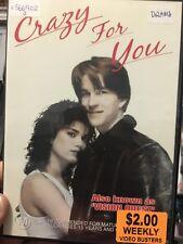 Crazy For You ex-rental region 4 DVD (1985 Matthew Modine drama movie) cheap