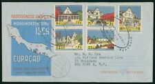 Mayfairstamps Netherlands FDC 1969 Monuments Curacao Combo First Day Cover wwr_1