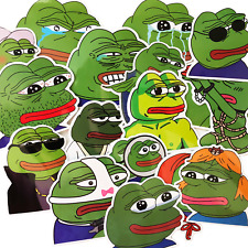17 Pepe the Frog Skateboard Laptop Political Meme Stickers #Ak