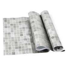 Wall Waterproof Mosaic Kitchen Sticker Self Adhesive Paper Tile Floor Bathroom D