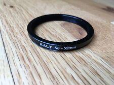 Kalt 58mm-52mm step-down ring