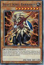 YU-GI-OH CARD: BEAST KING BARBAROS - YS17-EN007 - 1st EDITION