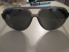 Coach Matte Transparent Aviator Sunglasses in Gray Grey