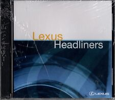 "EAGLES/ VARIOUS ARTISTS ""LEXUS: HEADLINERS"" CD 2004 sealed"