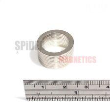 10 Neodymium Ring Magnets 19/14/1 mm thin neo magnet 19mm dia x 14mm dia x 1mm