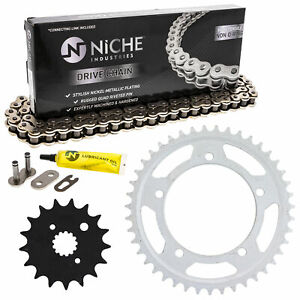 Sprocket Chain Set for Suzuki GSXR1000 17/43 Tooth 530 Rear Front Combo Kit