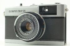 【NEAR MINT / NEW SEAL】 Olympus Trip 35 Silver D.Zuiko 40mm f/2.8 from JAPAN #935