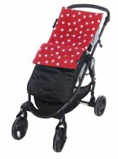 Sacos y cubrepiés color principal rojo para carritos y sillas de bebé Universal