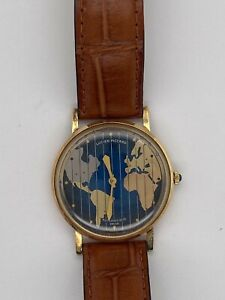 Lucien Piccard World Timer Gold watch