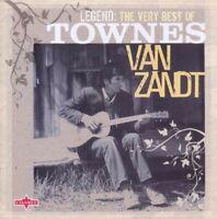 TOWNES VAN ZANDT - LEGEND: THE VERY BEST OF 2 CD NEU