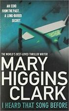 I Heard That Song Before by Mary Higgins Clark (Paperback)