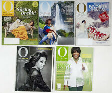 OPRAH 0 MAGAZINE LOT 5  BACK ISSUE 2002-2017  FAVORITE THING & ANNIVERSARY ISSUE