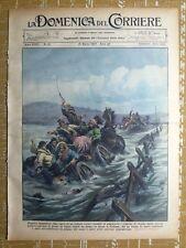 La Domenica del Corriere 21 marzo 1937 Colham - Argentina - Mussolini Libia