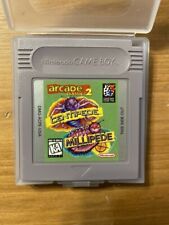 Gameboy Game-Arcade Classics 2- Centipede & Millipede- Cartridge Only -Very Good