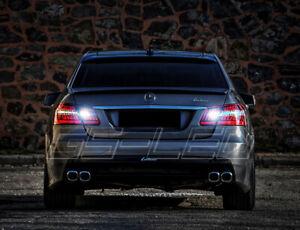 2x Bulbs 10W Backup W16W Reverse LED White 6000K Mercedes E Class W212 2009-2016