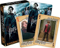 Harry Potter and the Goblet of Fire Movie Illustrated Playing Cards, NEW SEALED