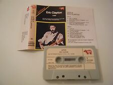 ERIC CLAPTON LAYLA CASSETTE TAPE COMPILATION 1970 PAPER LABEL R.S.O. ITALY