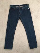 Apc Petit Standard Jean Droit Etroit Straight Leg Slim Selvedge Jeans 33x31