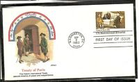 US SC # 2052 Treaty Of Paris FDC. Fleetwood Cachet.