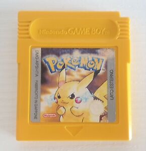 Pokemon Versione Gialla ITA Nintendo Game Boy