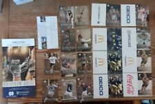 18 diff. 2009/10 notre dame schedules most sports plus 2 other items