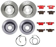 Front Rear Brembo Full M Perf Brake Kit Ceramic Pads Disc Rotors For BMW F32 F33