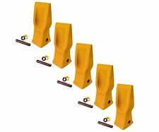 5 Cat Style Excavator, Backhoe, Skid Bucket H.D. Abrasion Bucket Teeth- 4T-2203
