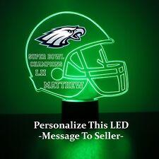 Philadelphia Eagles Night Light Lamp Personalized FREE NFL Football Light Up