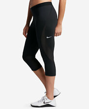 Womens Nike Pro Hypercool Training Crop leggings capri pant 3x 3xl xxxl  black