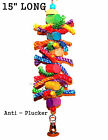 Pet bird parrot toys for cage toy The Plucker for cockatoo African grey Amazon