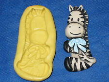 Baby Zebra Silicone Mold Resin Clay Candy 275 Baby Shower Fondant Chocolate