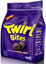 Cadbury Chocolates Bags (Crispello / / Pebbles / Twirl Bites) Yummi Chocolate