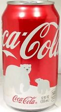 "FULL Can American Coke ""Red"" Coca-Cola Save Polar Bear Issue 2011 USA Limited Ed"