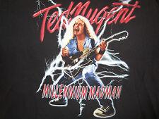 True Vintage TED NUGENT Concert T-Shirt Tour Shirt 2000 Size LG Rare Original