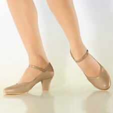"So Danca CH52 Women's Size 4M Tan 2"" Heel Character Shoe (WITH DEFECTS)"
