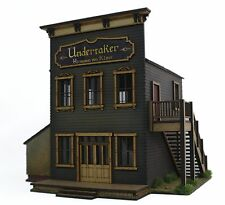 Undertakers & Mortuary Annex deluxe model kit for Malifaux style games