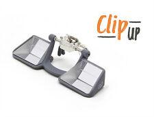 Sicherungsbrille/Kletterbrille/Prismenbrille Clip Up - die für Brillenträger