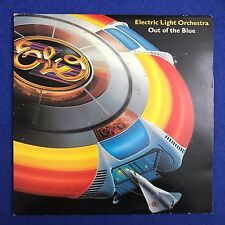 ELECTRIC LIGHT ORCHESTRA Out Of The Blue 1977 UK Vinyl LP ELO E.L.O. A POSTER