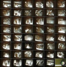 16 mm Film Bericht um 1952-Frankreich Dorf Semenos-Deutsche im Dorf-Antique Film