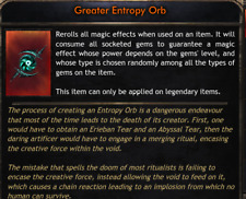 Wolcen Lords of Mayhem - 300* Greater Entropy Orbs (Geo) Fast Delivery