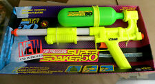 Larami 1992 New & Improved SUPER SOAKER 50 water rifle in package mf