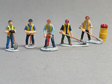 LIONEL MOW WORKERS PEOPLE PACK FIGURES O GAUGE worker rail road yard 6-83171 NEW