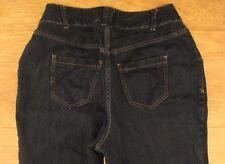 Lane Bryant women's denim jeans Sz 14 Petite W-34 L-29 R-11 Distinctly Boot EUC