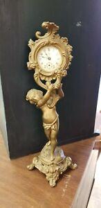 Vintage Art Nouveau Jennings Bros.  Clock 1891