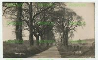 OLD POSTCARD NEWTOWN HUNGERFORD BERKSHIRE REAL PHOTO VINTAGE 1920S