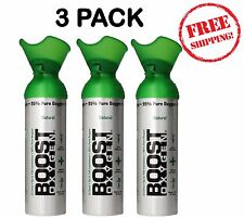 Emergency Oxygen Bar In A Can Boost Oxygen Natural Energy Natural 22oz 3pack