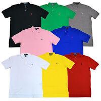 Polo Ralph Lauren Mens Classic Fit Interlock Polo Shirt S M L Xl New Nwt