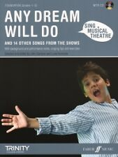 SING MUSICAL THEATRE Any Dream Will Do + CD*