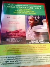 The Pirogue / Colobane Express / The Silent Monlogue (DVD) Factory Sealed